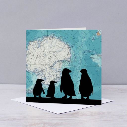 Penguins Over Antarctica