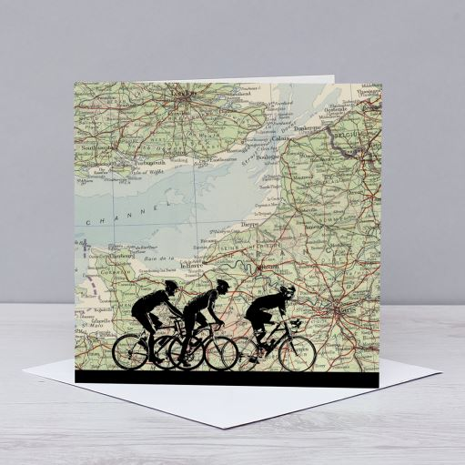 London to Paris Cycling Card