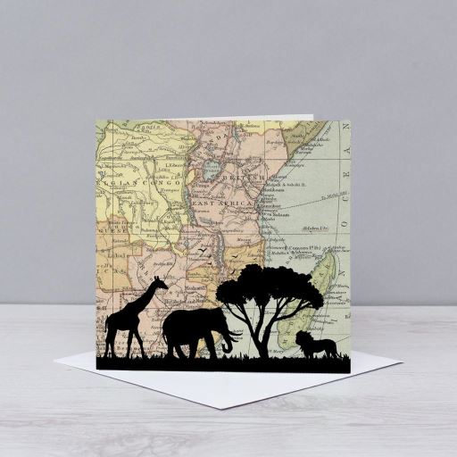 Safari over east Africa