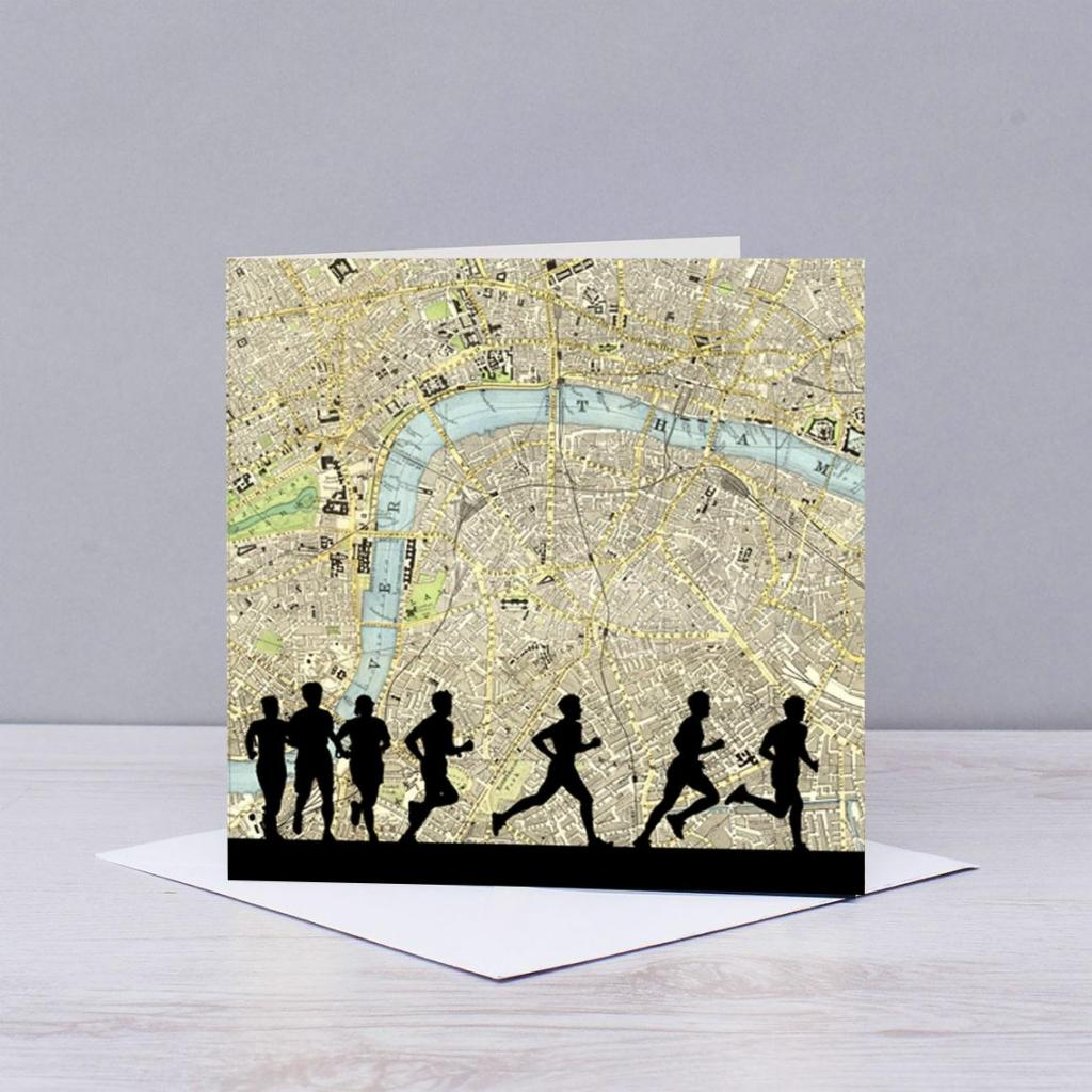 Good Luck London Marathon Card