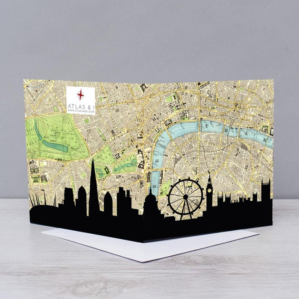 London Skyline Map