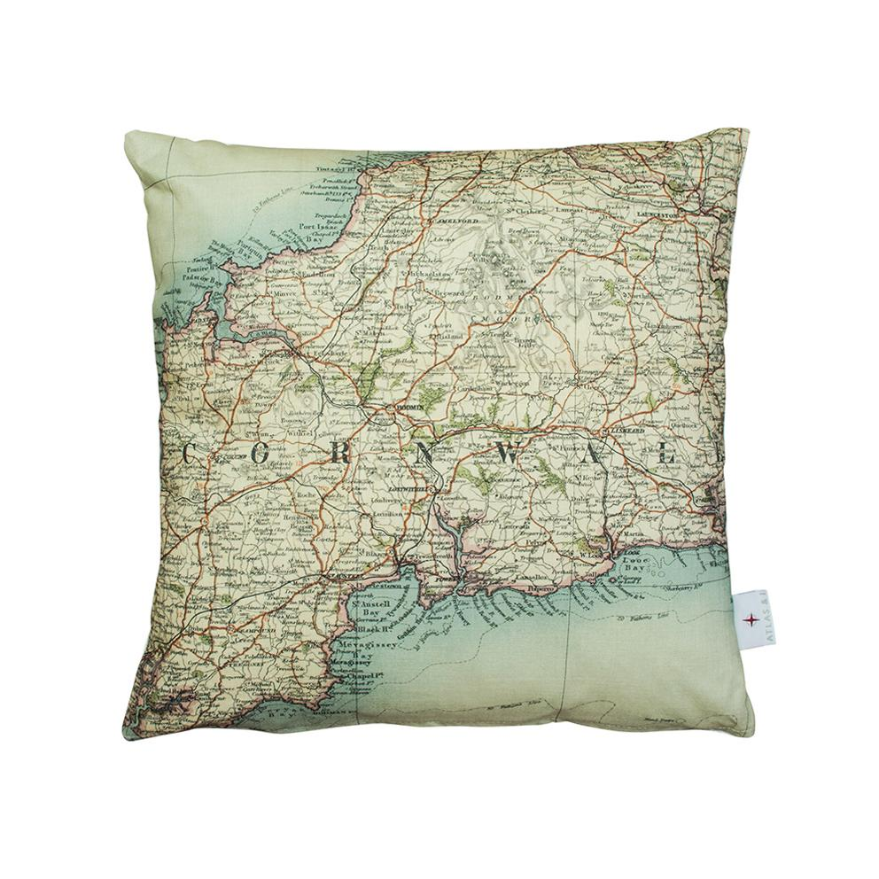 Personalised Map Cushion