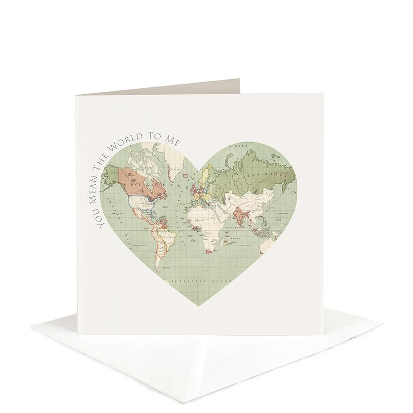 You Mean the World to Me - Father's Day Card