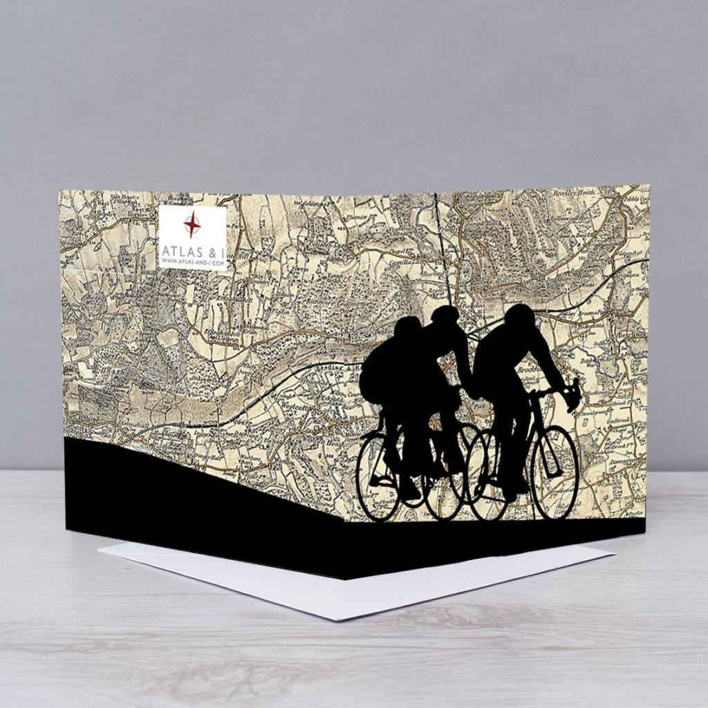 Cycling Over Box Hill Card