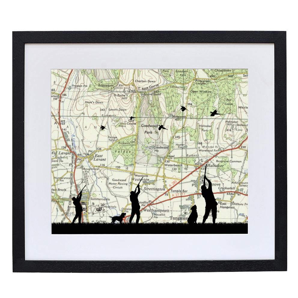 Shooting Print with Personalised Map