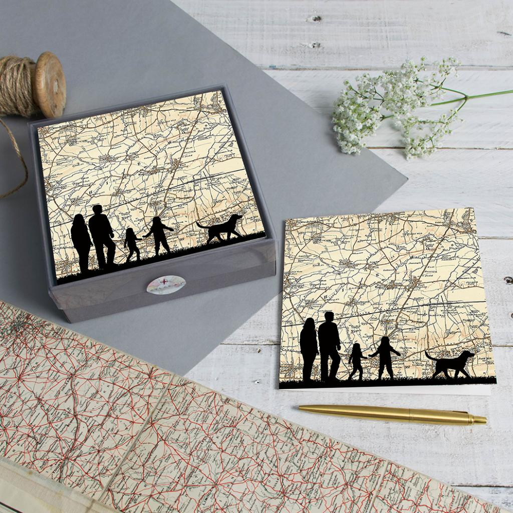 Personalised pack of Greeting cards