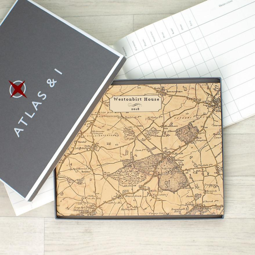 Personalised Leather Game Book
