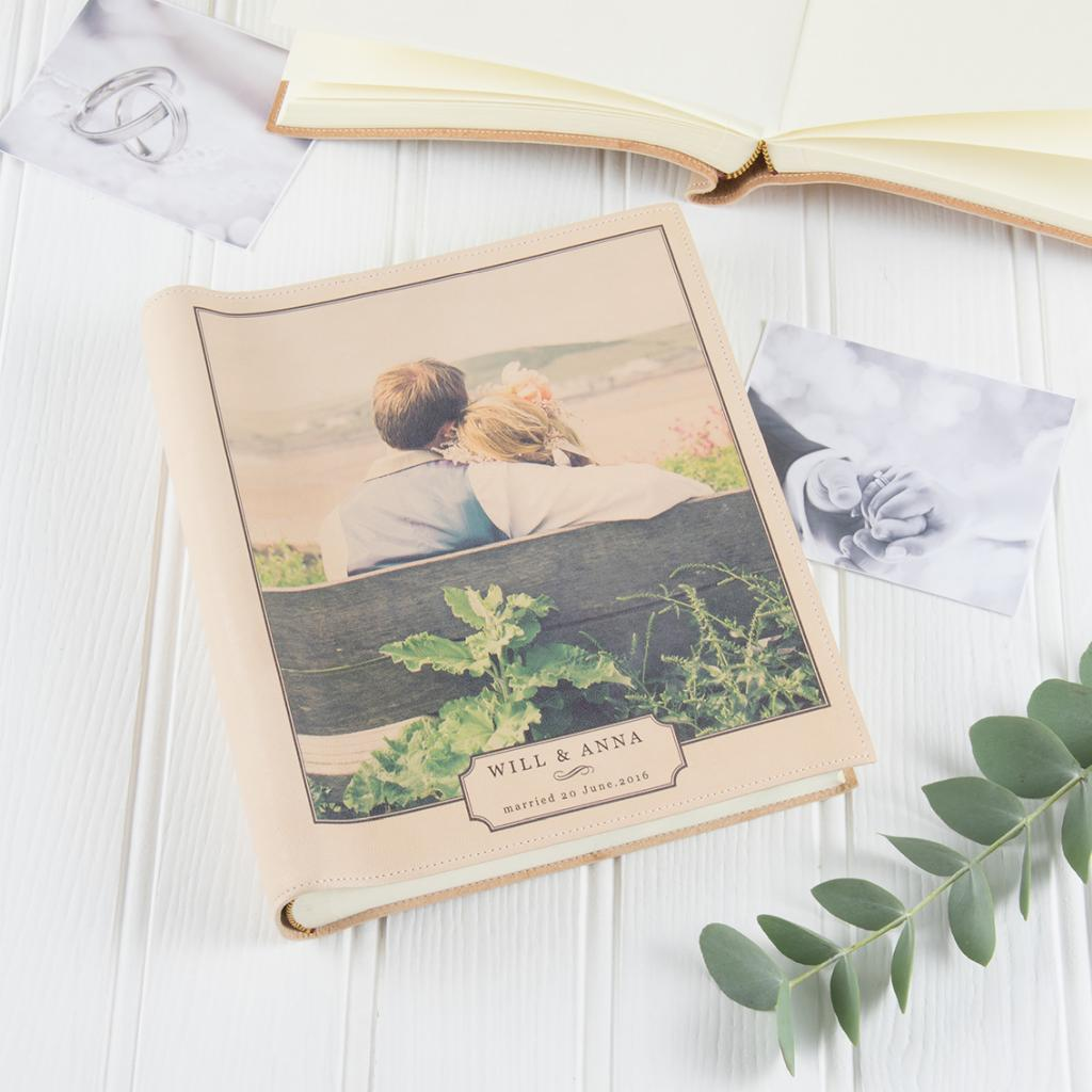 Personalised Vintage photo printed album
