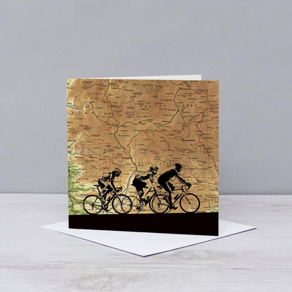 Tour De France Cycling Card
