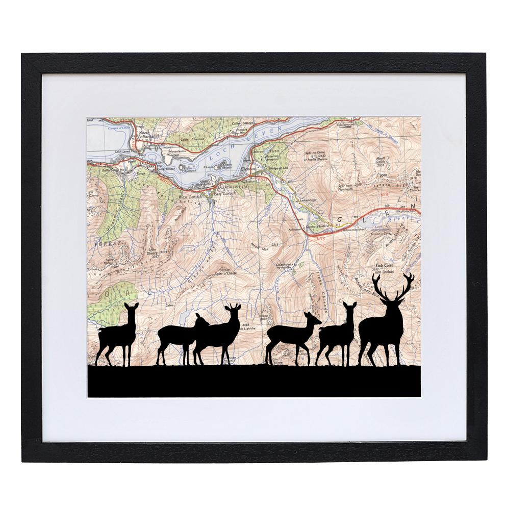 Personalised Deer Silhouette