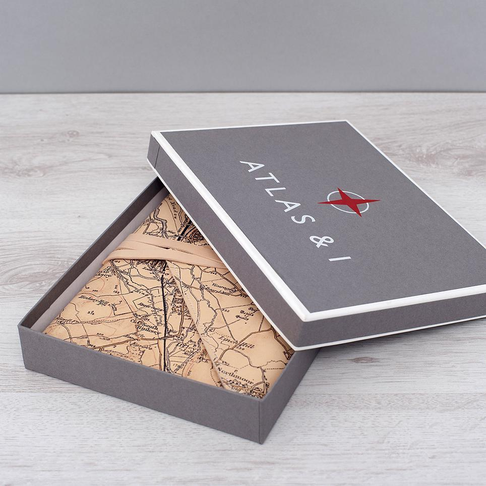 Personalised Envelope Wrap Refillable Notebook
