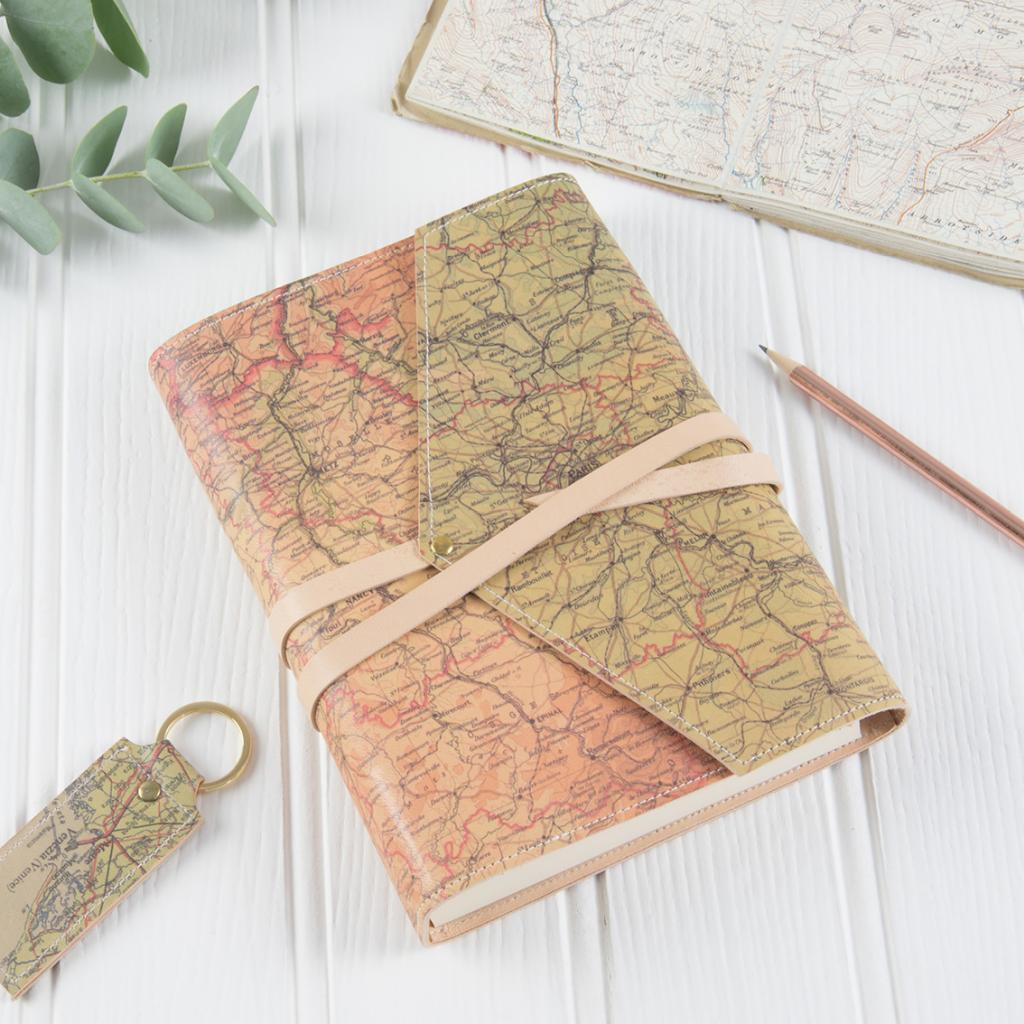 Personalised Leather Wrap Sketchbook